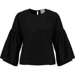 Bluzki asymetryczne: Amorph Berlin LOUISA  Bluzka black