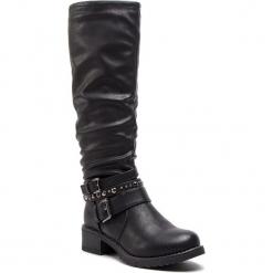 Kozaki JENNY FAIRY - WS16357-15 Czarny. Czarne buty zimowe damskie Jenny Fairy, ze skóry ekologicznej. Za 159,99 zł.