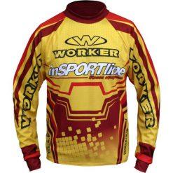 InSPORTline Koszulka męska Freeride czerwono-żółta r. S. Czerwone t-shirty męskie inSPORTline, m. Za 214,90 zł.