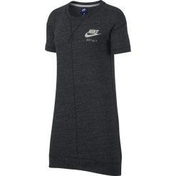 Sukienki: Gładka sukienka-sweter z długimi rękawami