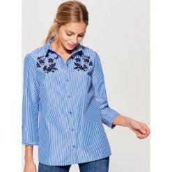 Koszula w paski - Wielobarwn. Szare koszule damskie marki Mohito, w paski. Za 79,99 zł.