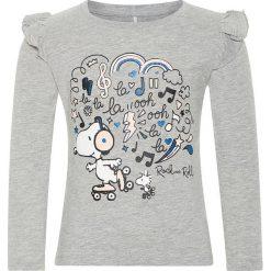 """Bluzki dziewczęce: Koszulka """"Snoopy"""" w kolorze szarym"""