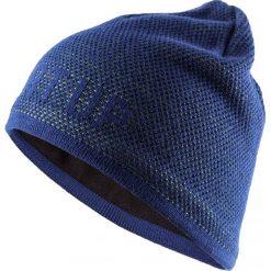 Czapka męska  CAM611 - denim - Outhorn. Niebieskie czapki zimowe męskie Outhorn, z denimu. Za 39,99 zł.