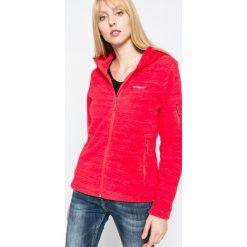 Columbia - Bluza. Różowe bluzy z kapturem damskie Columbia, l, z dzianiny. Za 299,90 zł.