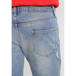 Topman POLLY BLOW Jeans Skinny Fit blue. Niebieskie jeansy męskie relaxed fit marki Topman, z bawełny. W wyprzedaży za 199,20 zł.