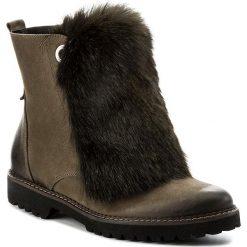 Botki EVA MINGE - Rosario 17BD1372203EF 415. Zielone buty zimowe damskie marki Eva Minge, z materiału. W wyprzedaży za 339,00 zł.