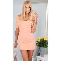 Sukienki: Sukienka Brzoskwiniowa 2900