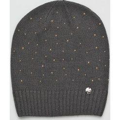 Liu Jo - Czapka. Czarne czapki zimowe damskie Liu Jo, na zimę. Za 199,90 zł.