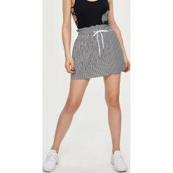 Spódniczki: Spódnica z wiązaniem – Wielobarwn