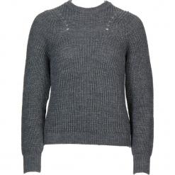 Sweter w kolorze szarym. Szare swetry klasyczne damskie Gottardi, s, z wełny, z okrągłym kołnierzem. W wyprzedaży za 130,95 zł.