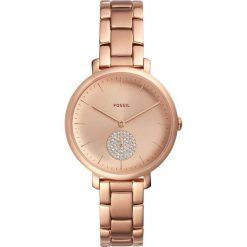 Fossil - Zegarek ES4438. Różowe zegarki damskie Fossil, szklane. Za 849,90 zł.