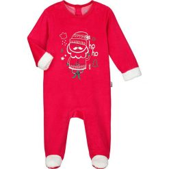 Pajacyki niemowlęce: Śpioszki w kolorze czerwonym