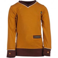 """Bluza """"Caramelos"""" w kolorze pomarańczowym. Brązowe bluzy chłopięce marki 4FunkyFlavours Kids. W wyprzedaży za 82,95 zł."""