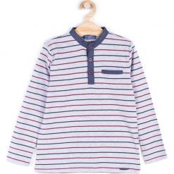 Koszulka. Szare t-shirty chłopięce z długim rękawem ELEGANT JUNIOR BOY, z bawełny. Za 39,90 zł.
