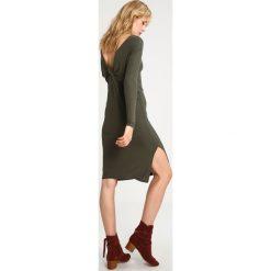 Sukienki hiszpanki: Topshop Sukienka z dżerseju khaki