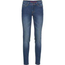 """Dżinsy Super SKINNY, krótsze nogawki bonprix niebieski """"stone"""". Niebieskie jeansy damskie marki House, z jeansu. Za 69,99 zł."""
