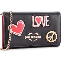 Torebka LOVE MOSCHINO - JC5605PP17LJ0000 Nero. Czarne torebki klasyczne damskie marki Love Moschino, ze skóry ekologicznej. Za 529,00 zł.
