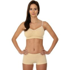 Biustonosze sportowe: Brubeck Biustonosz Comfort Cotton beżowy r. 75A (BR00012A)
