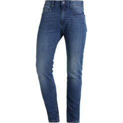 KIOMI Jeansy Slim Fit dark blue. Niebieskie rurki męskie KIOMI. Za 129,00 zł.
