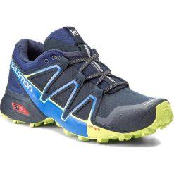 Buty SALOMON - Speedcross Vario 2 394524 27 V0 Navy Blazer/Nautical Blue/Lime Punch. Niebieskie buty do biegania męskie marki Salomon, z materiału, na sznurówki, salomon speedcross. W wyprzedaży za 329,00 zł.