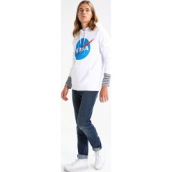 Bejsbolówki męskie: Mister Tee NASA HOODY Bluza z kapturem white