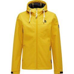 Kurtka softshellowa w kolorze żółtym. Żółte kurtki męskie marki Schmuddelwedda, m, z polaru. W wyprzedaży za 237,95 zł.