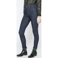 Vero Moda - Jeansy. Niebieskie boyfriendy damskie Vero Moda, z podwyższonym stanem. W wyprzedaży za 69,90 zł.