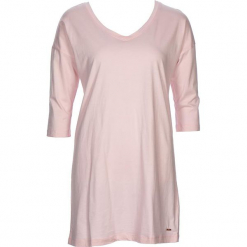 """Koszula nocna """"Flower Dreams"""" w kolorze jasnoróżowym. Białe koszule nocne i halki marki LASCANA, w koronkowe wzory, z koronki. W wyprzedaży za 81,95 zł."""