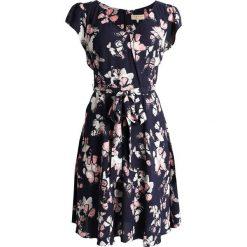 Sukienki hiszpanki: Dorothy Perkins Petite BILLIE BLOSSOM BORDER FLORAL DRESS Sukienka letnia bright navy