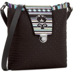 Torebka GOSHICO - Etno 22-263937 Czarna Z Haftowaną Klapą. Czarne torebki klasyczne damskie GOSHICO, z haftami, z haftem. W wyprzedaży za 239,00 zł.