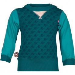 """Koszulka """"Northern Sky"""" w kolorze morskim. Zielone t-shirty chłopięce z długim rękawem marki 4FunkyFlavours Kids. W wyprzedaży za 72,95 zł."""