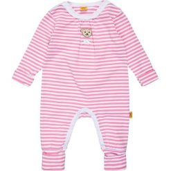 Bielizna dziewczęca: Steiff Collection 1/1 ARM NEWBORN WELLNESS WEAR BABY Piżama pink