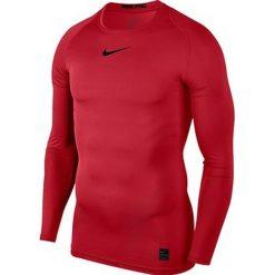 Nike Koszulka męska M NP TOP LS COMP czerwona r. L (838077 657). Czerwone koszulki sportowe męskie Nike, l. Za 111,26 zł.
