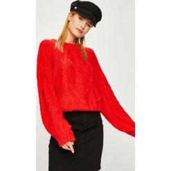 Answear - Sweter Femifesto. Szare swetry klasyczne damskie marki ANSWEAR, l, z dzianiny, z okrągłym kołnierzem. Za 129,90 zł.