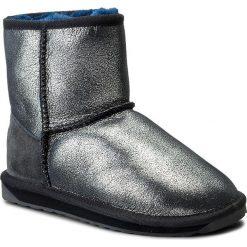 Buty zimowe damskie: Buty EMU AUSTRALIA – Stinger Metallic Mini W11378 Midnight