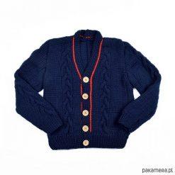 T-shirty chłopięce: Sweter Royal Blue Merynos Dzięcięcy