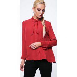 Koszula z cyrkoniami ruda MP26005. Brązowe koszule damskie Fasardi, l. Za 49,00 zł.