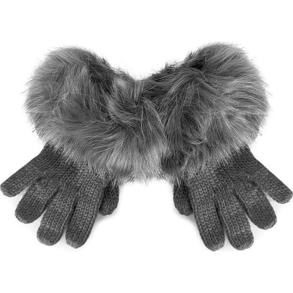 Rękawiczki Damskie TRUSSARDI JEANS - Gloves Knitted 59Z00006 M E151. Czarne rękawiczki damskie marki Trussardi Jeans, z jeansu, na obcasie. W wyprzedaży za 169,00 zł.