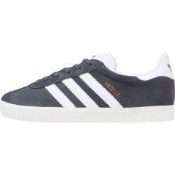 Adidas Originals GAZELLE  Tenisówki i Trampki solid grey/white/gold metallic. Szare tenisówki męskie marki adidas Originals, z materiału. W wyprzedaży za 224,10 zł.
