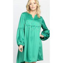 Zielona Sukienka Saving Grace. Zielone sukienki letnie marki Born2be, m, mini. Za 84,99 zł.