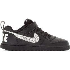 Buty sportowe Court Borough Low. Szare buty sportowe chłopięce marki Nike, ze skóry. Za 230,96 zł.