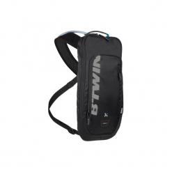 Plecak rowerowy z bukłakiem MTB 500. Czarne plecaki męskie marki WED'ZE, z materiału. Za 79,99 zł.