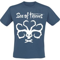 T-shirty męskie z nadrukiem: Sea Of Thieves Mermaids Fortune T-Shirt niebieski