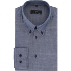 Koszula BIAGIO slim 15-11-25-K. Niebieskie koszule męskie na spinki Giacomo Conti, na lato, m, z bawełny, button down, z długim rękawem. Za 229,00 zł.