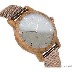 DREWNIANY ZEGAREK DAMSKI SLIM 38 N107. Czarne zegarki damskie marki KIPSTA, m, z elastanu, z długim rękawem, na fitness i siłownię. Za 649,00 zł.