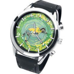 Rick And Morty Rick und Morty Zegarek na rękę czarny/zielony. Czarne zegarki męskie Rick And Morty, ze stali. Za 99,90 zł.