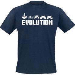 Gamer Pad Evolution T-Shirt granatowy. Niebieskie t-shirty męskie Gamer Pad Evolution, m. Za 62,90 zł.