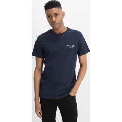 T-shirty męskie: Nicce SPLIT LOGO Tshirt basic navy
