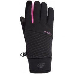 Rękawiczki damskie: 4F Damskie Rękawiczki Narciarskie H4Z17 red002 Czarny M