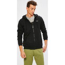 Fila - Bluza. Czarne bluzy męskie rozpinane marki Fila, l, z bawełny, z kapturem. W wyprzedaży za 249,90 zł.